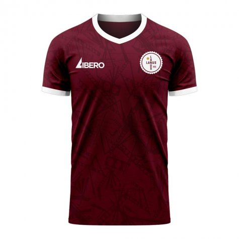 Lanus 2020-2021 Home Concept Football Kit (Libero)