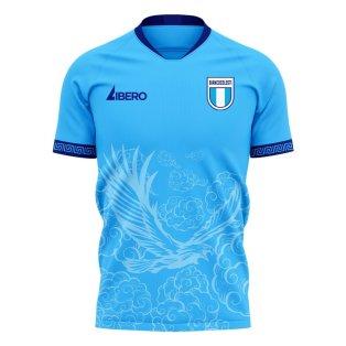 Lazio 2020-2021 Home Concept Football Kit (Libero)
