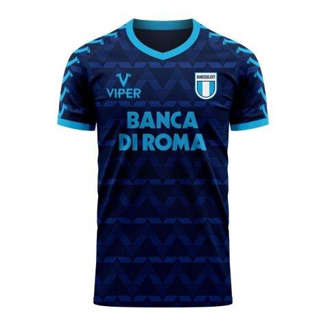 Lazio 2020-2021 Away Concept Football Kit (Viper)