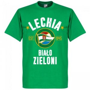 Lechia Gdansk Established T-Shirt - Green