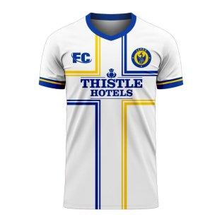 Leeds 2020-2021 Home Concept Football Kit (Fans Culture)