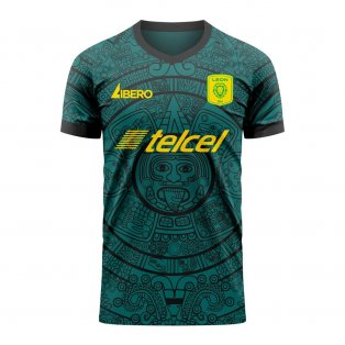 Club Leon 2020-2021 Home Concept Football Kit (Libero) - Womens