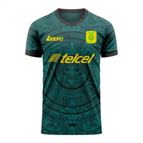 Club Leon 2020-2021 Home Concept Football Kit (Libero)