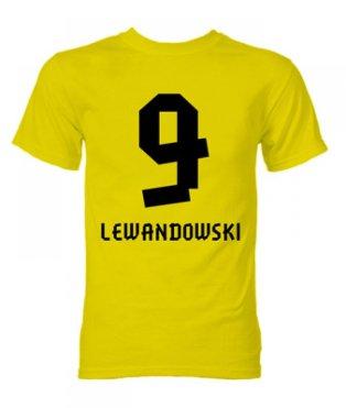 Robert Lewandowski Borussia Dortmund Hero T-Shirt (Yellow)