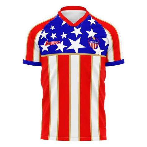 Liberia 2021-2022 Home Concept Football Kit (Libero) - Womens