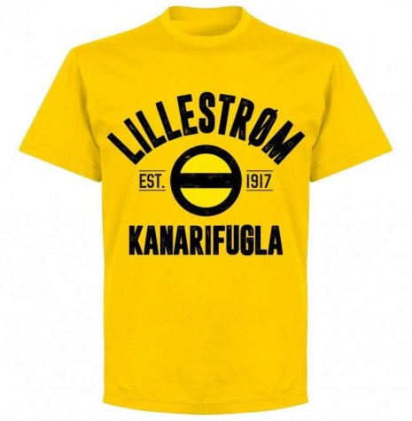 Lillestrom Established T-shirt - Yellow