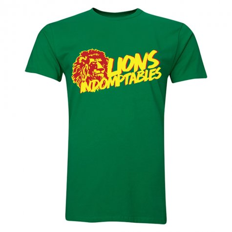 Cameroon Lions Indomptables T-Shirt (Green)