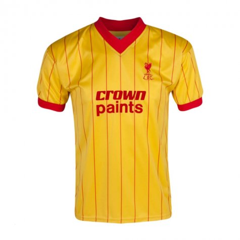 Score Draw Liverpool 1982 Away Shirt