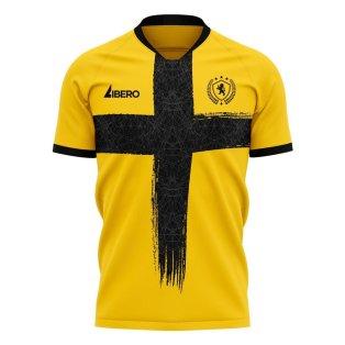 Livingston 2020-2021 Home Concept Football Kit (Libero) - Womens