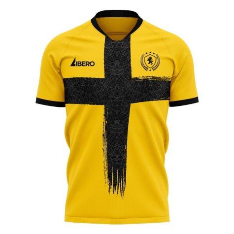 Livingston 2020-2021 Home Concept Football Kit (Libero) - Little Boys