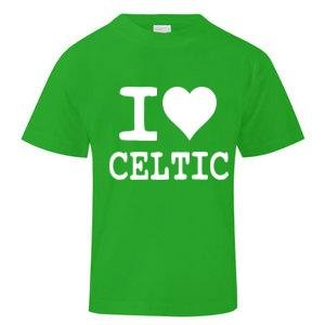 I Love Celtic T-Shirt