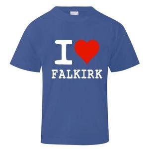 I Love Falkirk T-Shirt