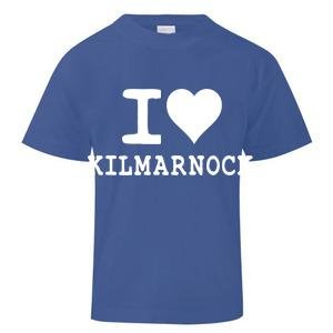 I Love Kilmarnock T-Shirt