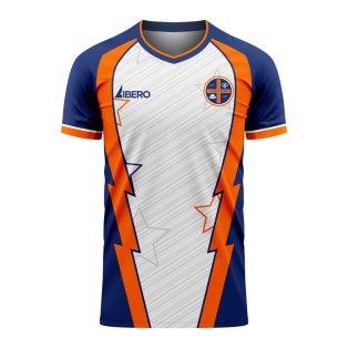 Luton 2020-2021 Home Concept Football Kit (Libero)