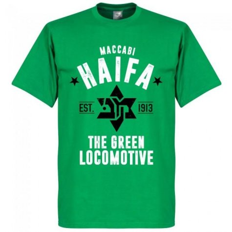 Maccabi Haifa Established T-Shirt - Green