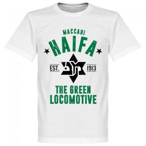 Maccabi Haifa Established T-Shirt - White