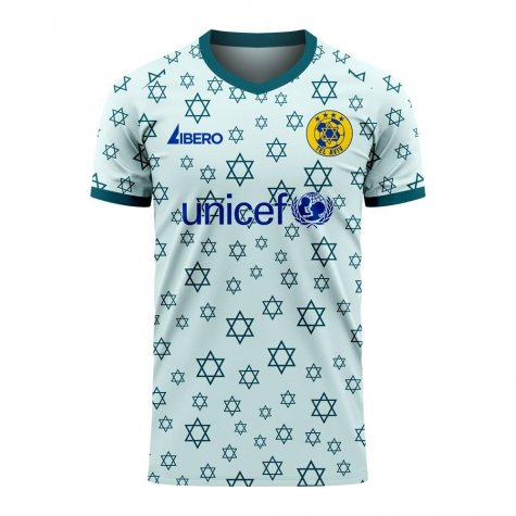 Maccabi Tel Aviv 2020-2021 Away Concept Football Kit (Libero) - Kids