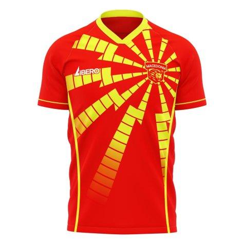 North Macedonia 2020-2021 Home Concept Shirt (Libero)