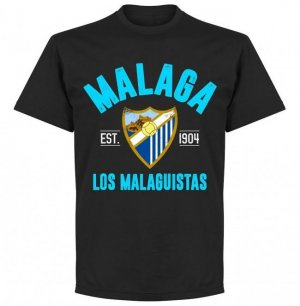 Malaga Established T-Shirt - Black
