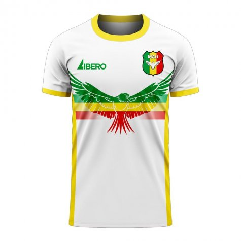 Mali 2020-2021 Away Concept Football Kit (Libero) - Little Boys