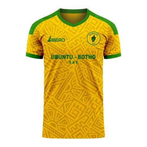 Mamelodi Sundowns 2020-2021 Home Concept Football Kit (Libero)