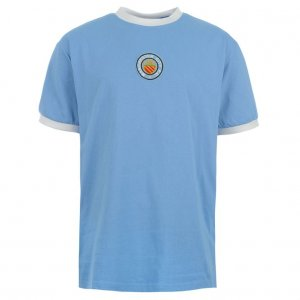 Score Draw Manchester City 1970 No8 Home Shirt