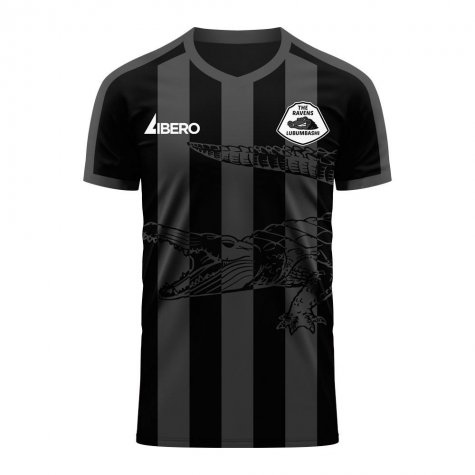 TP Mazembe 2020-2021 Home Concept Football Kit (Libero) - Little Boys