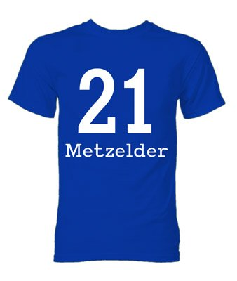 Christoph Metzelder Schalke Hero T-Shirt (Blue)