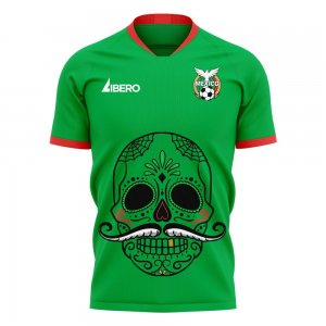Mexico 2020-2021 Mustache Concept Football Kit (Libero) - Little Boys