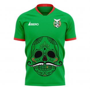 Mexico 2020-2021 Mustache Concept Football Kit (Libero)