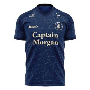Millwall 2020-2021 Home Concept Football Kit (Libero) - Kids