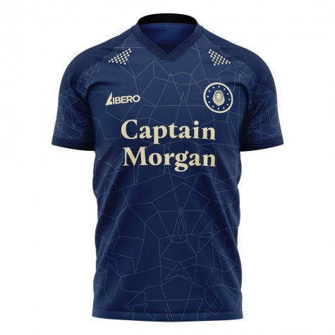 Millwall 2020-2021 Home Concept Football Kit (Libero) - Baby