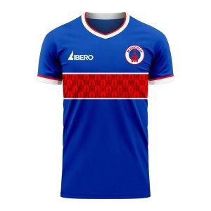 Mongolia 2020-2021 Home Concept Football Kit (Libero)