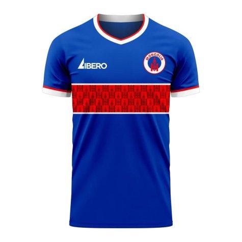 Mongolia 2020-2021 Home Concept Football Kit (Libero) - Womens