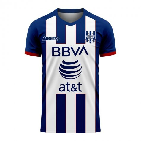 Monterrey 2020-2021 Home Concept Football Kit (Libero) - Womens