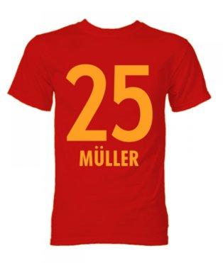 Thomas Muller Bayern Munich Hero T-Shirt (Red)
