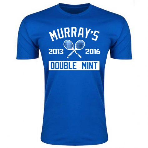 Andy Murray Wimbledon Double Mint T-Shirt (Blue)