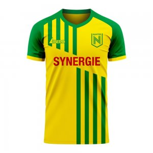 Nantes 2020-2021 Home Concept Football Kit (Libero) - Womens