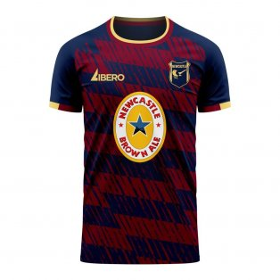 Newcastle 2020-2021 Away Concept Football Kit (Libero)