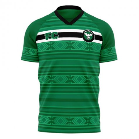 Nigeria 2020-2021 Home Concept Kit (Fans Culture) - Kids