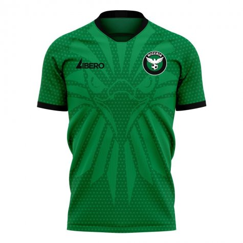 Nigeria 2020-2021 Home Concept Football Kit (Libero)