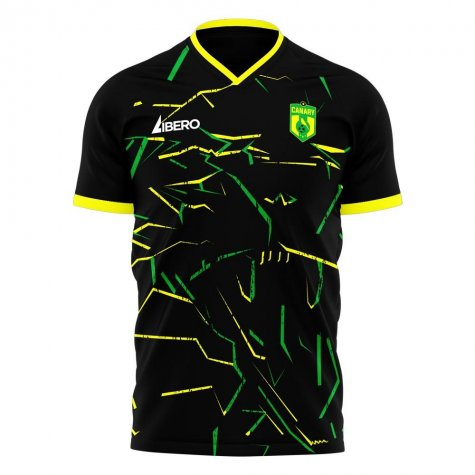 Norwich 2020-2021 Away Concept Football Kit (Libero)