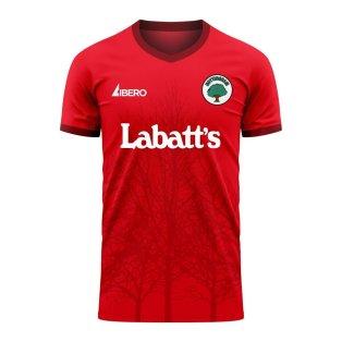 Nottingham 2020-2021 Home Concept Football Kit (Libero) - Womens