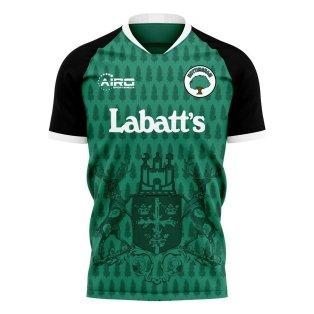 Nottingham 2020-2021 Away Concept Football Kit (Libero)