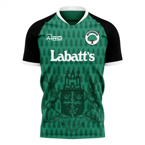 Nottingham 2020-2021 Away Concept Football Kit (Libero)