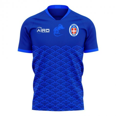 Novara 2020-2021 Home Concept Football Kit (Airo) - Womens