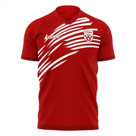Nurnberg 2020-2021 Home Concept Football Kit (Libero) - Womens