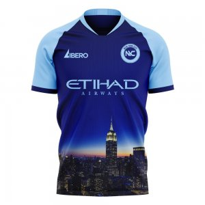 New York City 2020-2021 Away Concept Football Kit (Libero) - Kids
