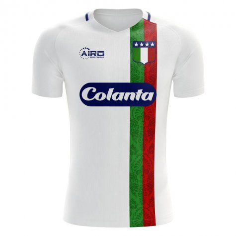 Once Caldas 2020-2021 Home Concept Football Kit (Airo) - Kids