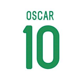 2013-14 Oscar Brazil Home Shirt Printing